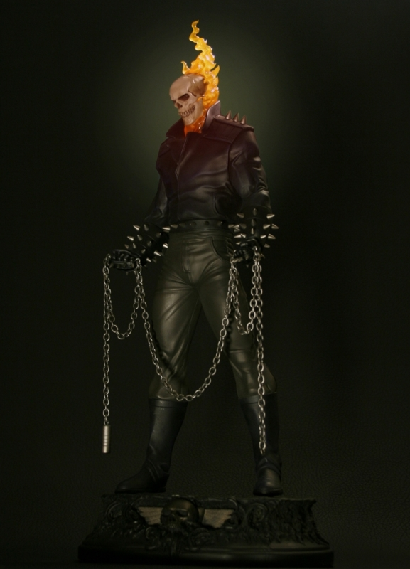 Ghost Rider Danny Ketch statue