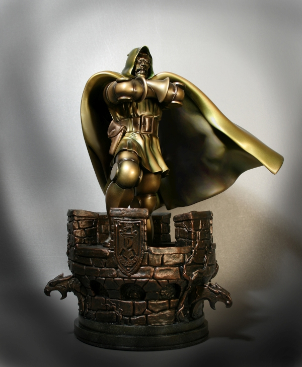 Doctor Doom Faux Bronze - Click Image to Close