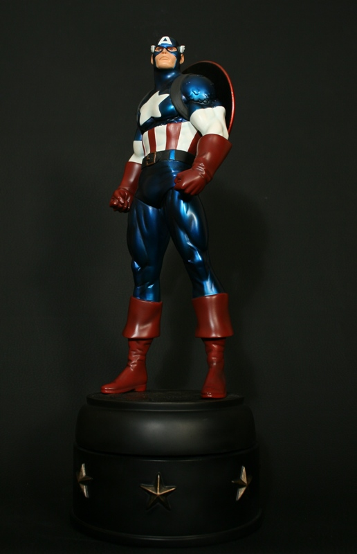 Captain America Metallic