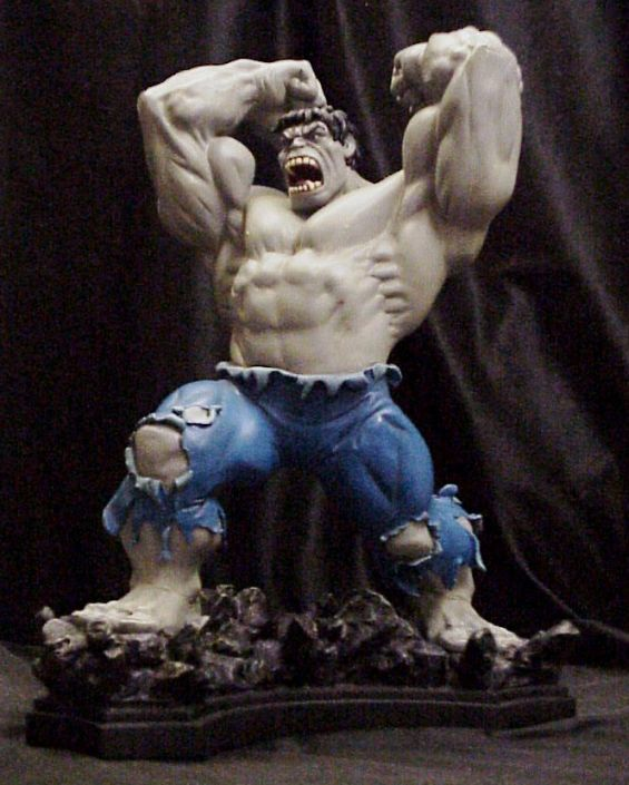 Hulk Classic Grey Collector Club Exclusive SIGNED