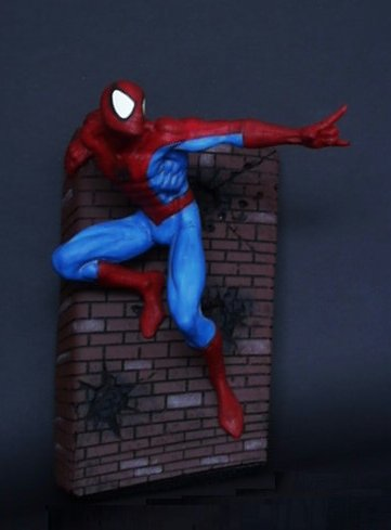 Spider-Man Wall Sculpture