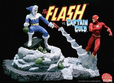 Flash vs. Captain Cold