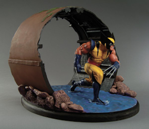 Wolverine Diorama Limited Variant