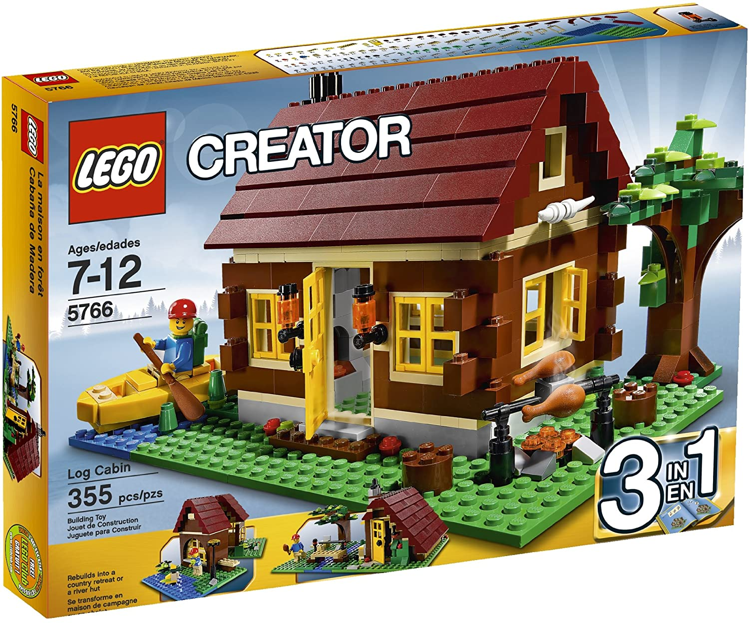 Creator Log Cabin (5766)