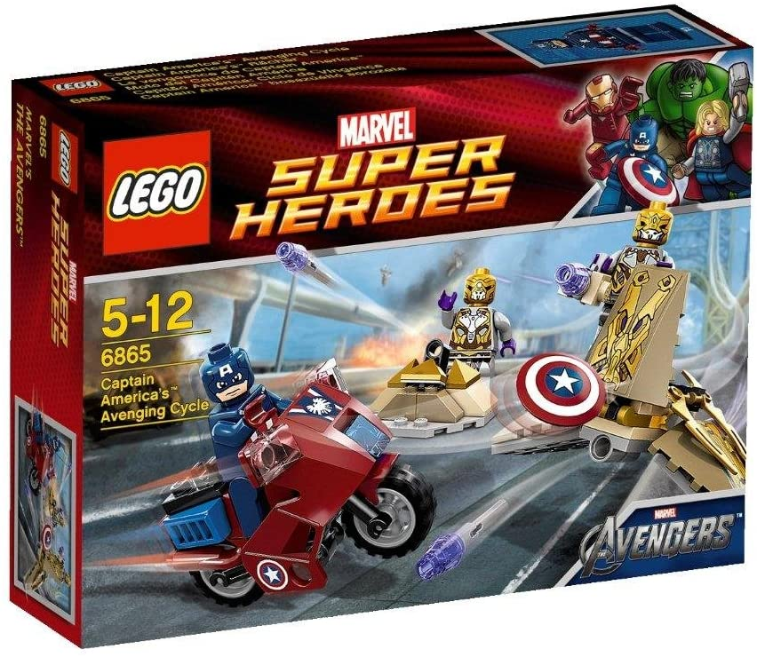 Captain Americas Avenging Cycle (6865)