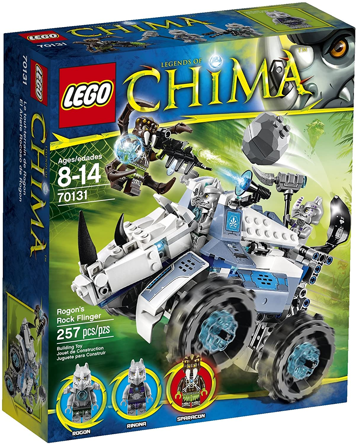 Chima Rogon's Rock Flinger (70131)