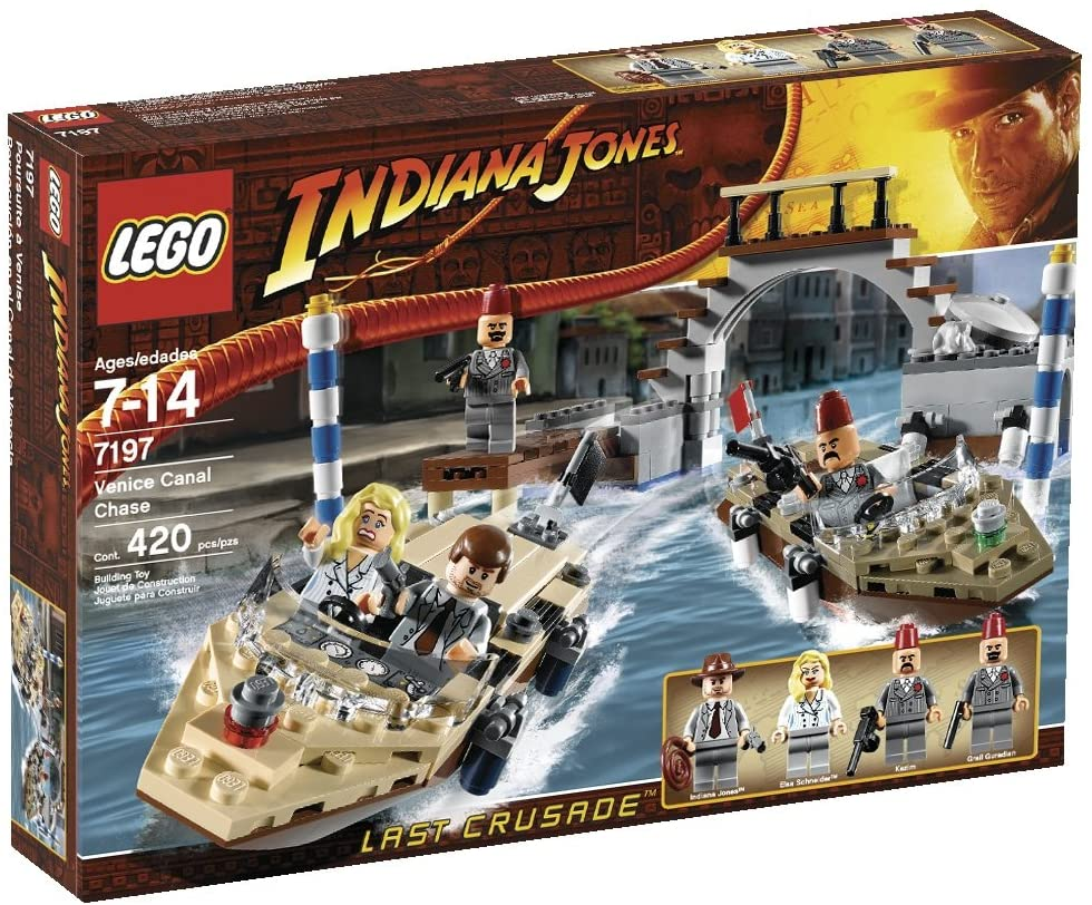 Indiana Jones Venice Canal Chase (7197)