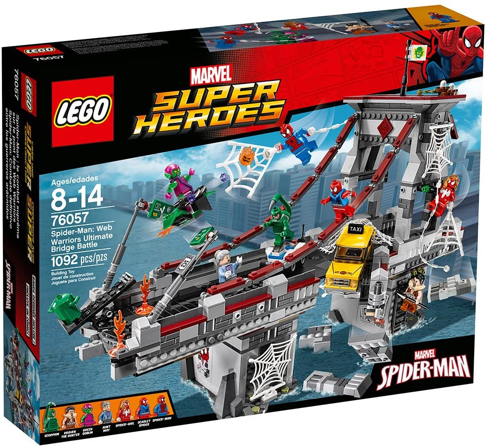 Super Heroes Web Warriors Ultimate Bridge Battle (76057)