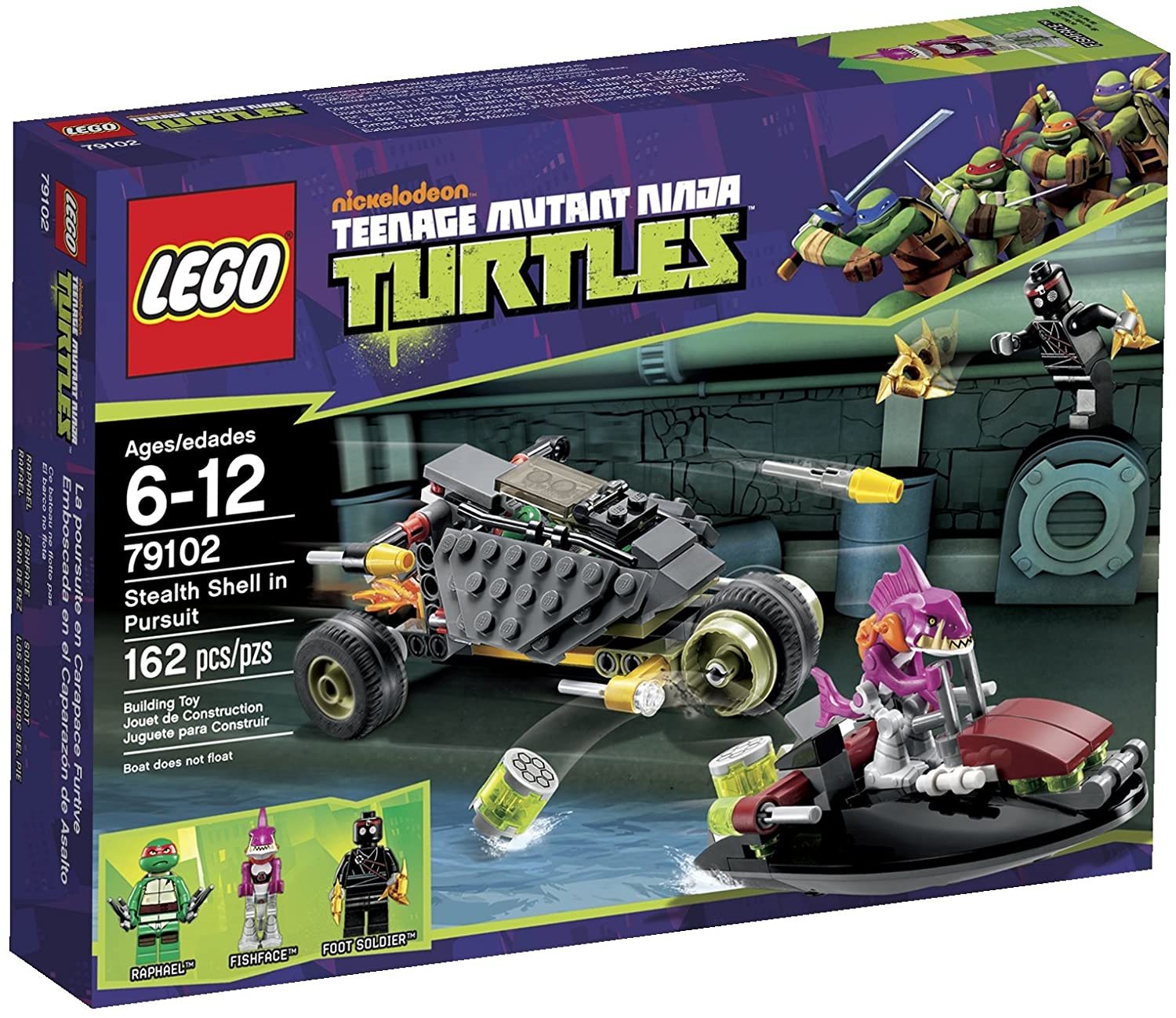 TMNT: Stealth Shell in Pursuit (79102)