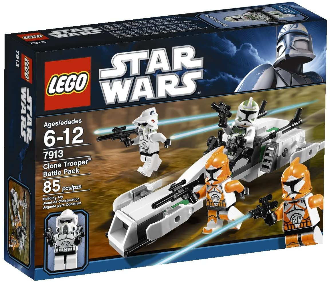 Star Wars Clone Trooper Battle Pack (7913) - Click Image to Close