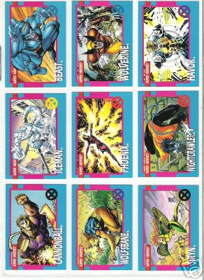 Marvel X-Men Series 1 1992