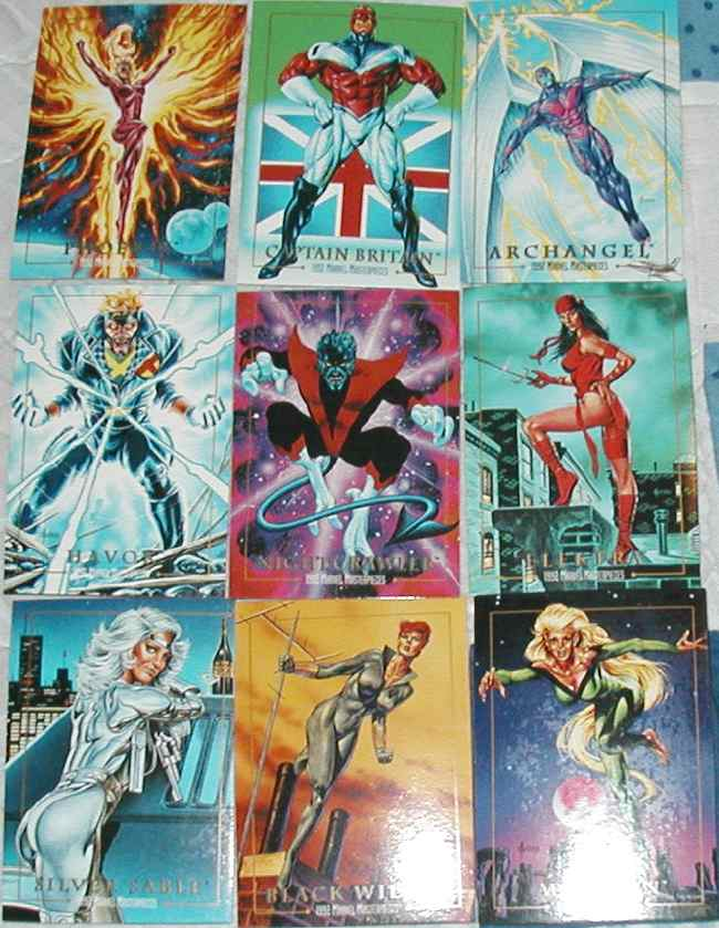 Marvel Masterpieces Series 1 1992