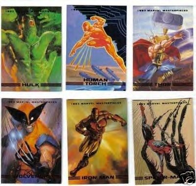 Marvel Masterpieces Series 2 1993