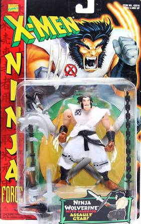 X-Men Ninja Force Wolverine