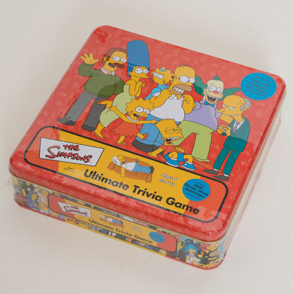 Simpsons Tin Ultimate Trivia Game