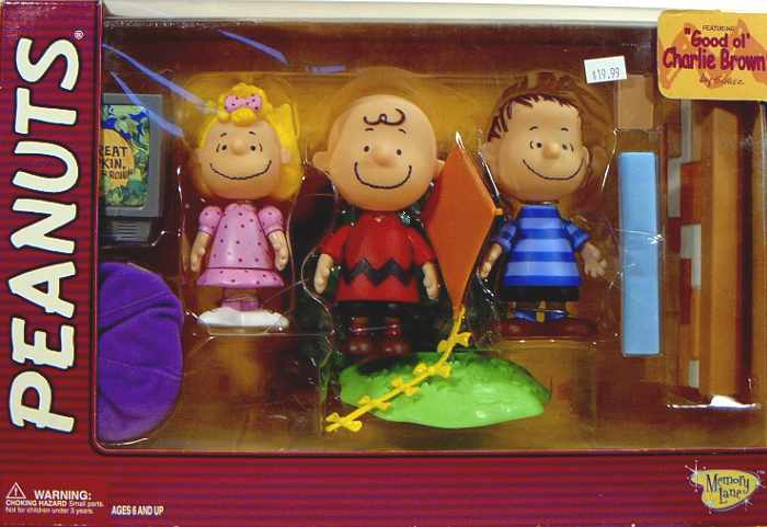 Peanuts Good Ol Charlie Brown Figure Collection A