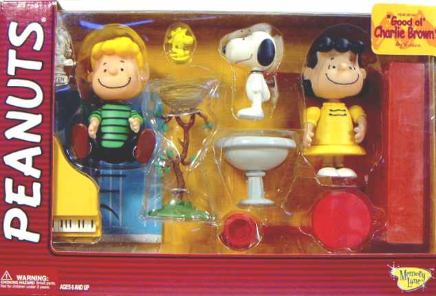Peanuts Good Ol Charlie Brown Figure Collection B
