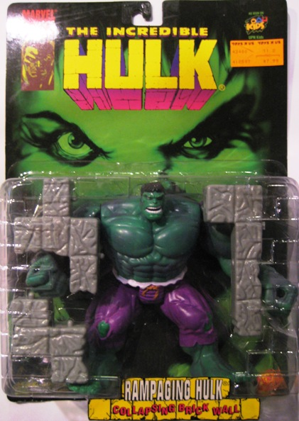 The Incredible Hulk Rampaging Hulk