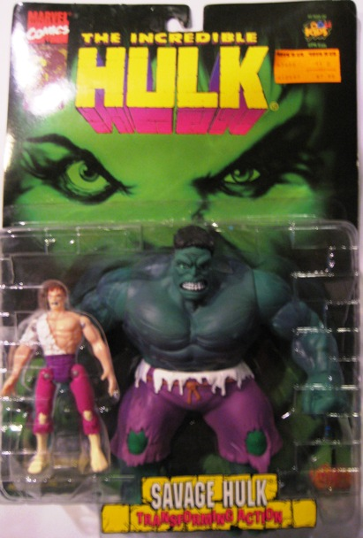 The Incredible Hulk Savage Hulk