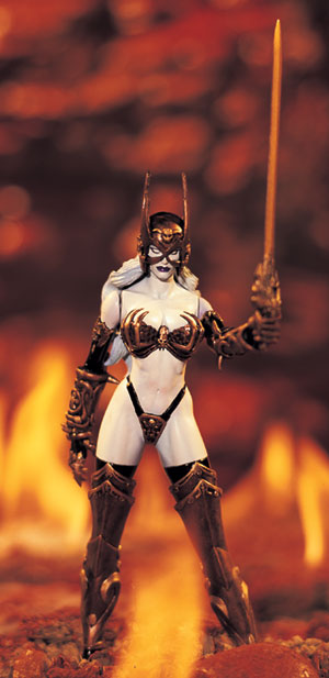 Toyfare Exclusive Lady Death Bronze Age