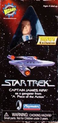 Toyfare Exclusive Captain Kirk Gangster