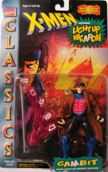 X-Men Classics Light-Up Weapon Gambit