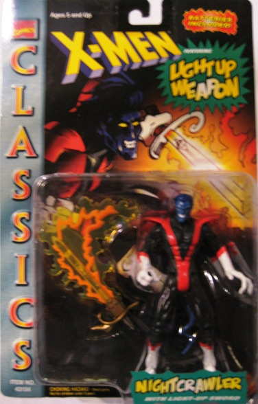 X-Men Classics Light-Up Weapon Nightcrawler