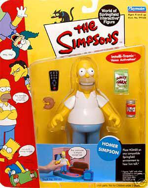 Series 01 Homer Simpson - Click Image to Close