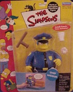 Series 02 Chief Wiggum - Click Image to Close