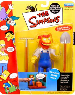 Series 04 Groundskeeper Willie
