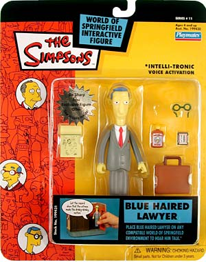 Series 11 Blue Haired Lawyer