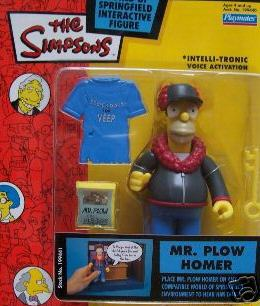 Series 12 Mr. Plow Homer