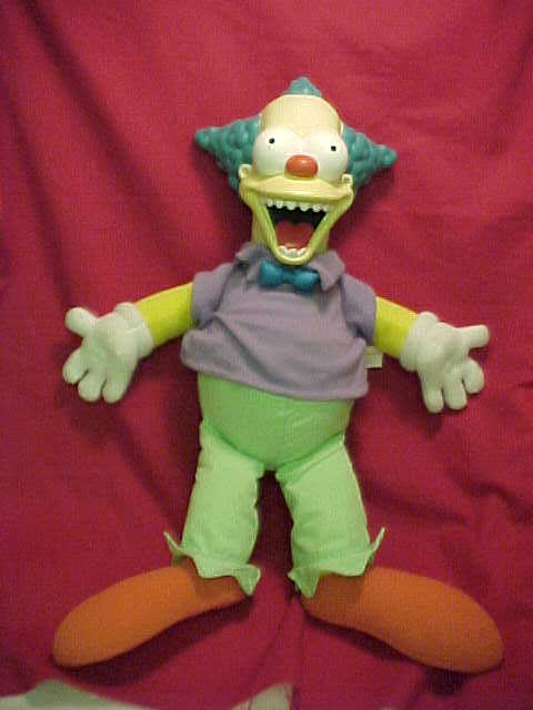 Krusty The Clown Talking Doll