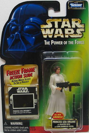 Princess Leia Organa with Blaster Rifle