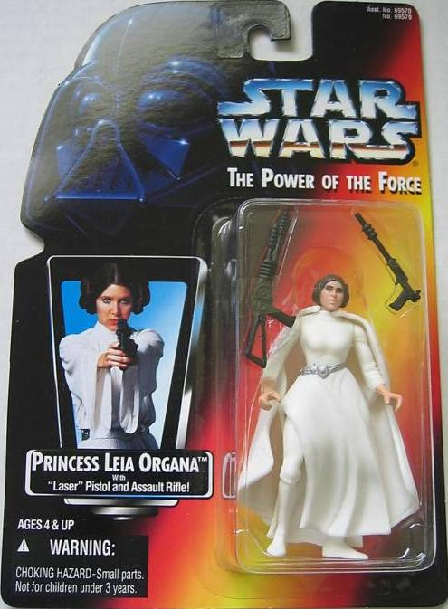 Princess Leia Organa with Laser Pistol and Assualt Rifle