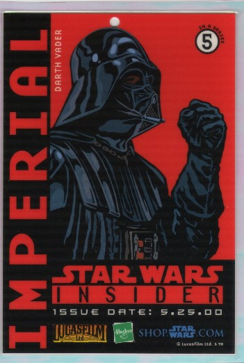 Star Wars Insider Darth Vader Pass