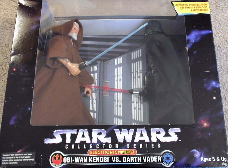 Obi-Wan Kenobi VS. Darth Vader Power F/X