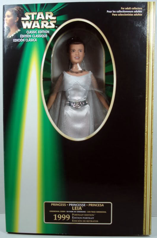 1999 Portrait Ed Princess Leia Ceremonial Gown