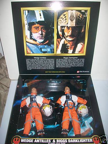 Wedge Antilles & Biggs Darklighter in Rebel Pilot Gear