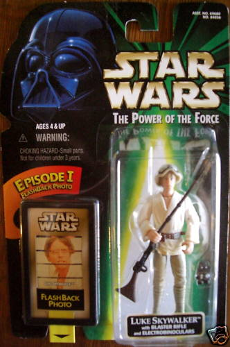 Luke Skywalker with Blaster Rifle and Electrobinoculars