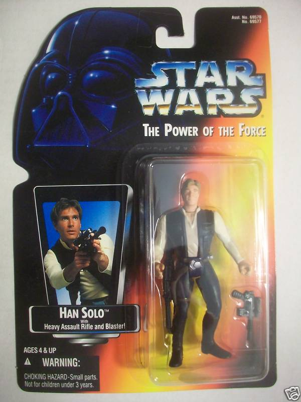 Han Solo with Heavy Assault Rifle and Blaster