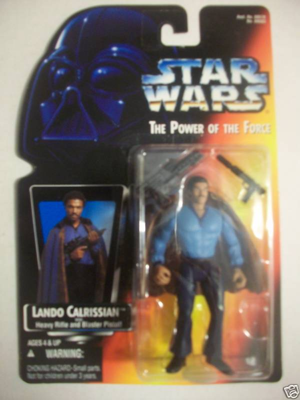Lando Calrissian with Heavy Rifle and Blaster Pistol