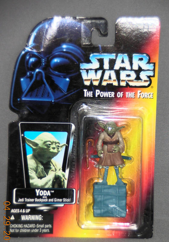 Yoda with Jedi Trainer Backpack