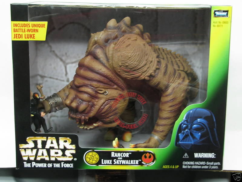 Rancor and Luke Skywalker