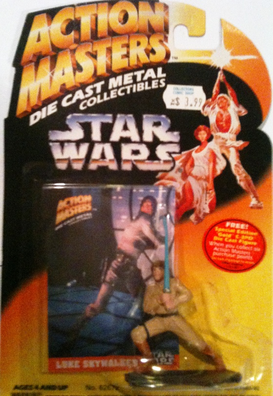 Die-Cast Metal Luke Skywalker
