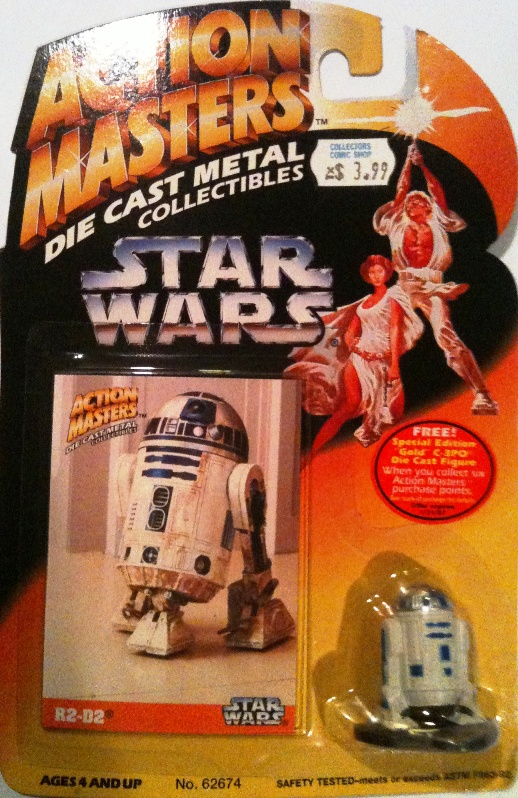 Die-Cast Metal R2-D2