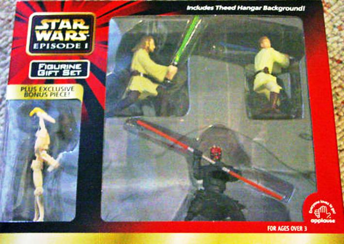 Theed Hangar Figurine Gift Set