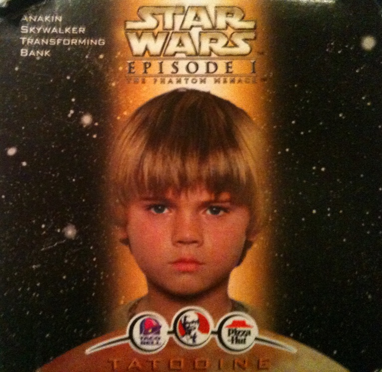 Taco Bell Anakin Skywalker Transforming Bank in Box