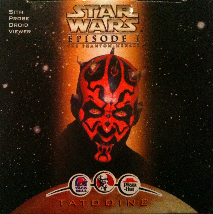 Taco Bell Sith Probe Droid Viewer in Box