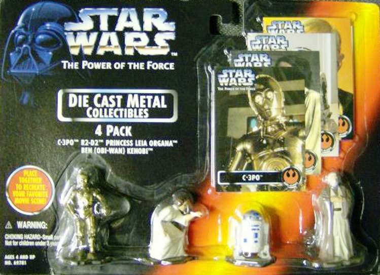 Die Cast Metal Collectibles 4 Pack